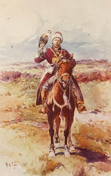 Царский сокольничий — Рубо Франц Алексеевич
