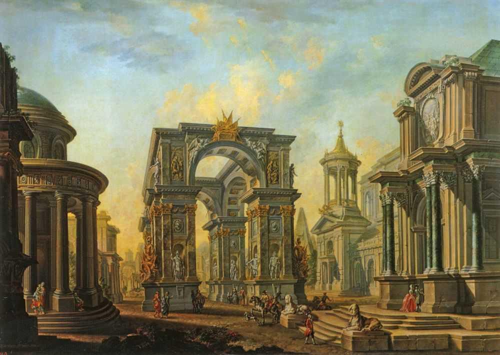Архитектурный вид. — Бельский Алексей Иванович