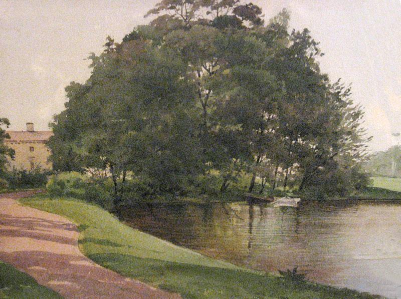 Дерево — Бенуа Альберт Николаевич