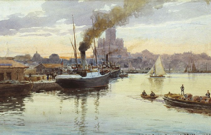 Порт — Бенуа Альберт Николаевич