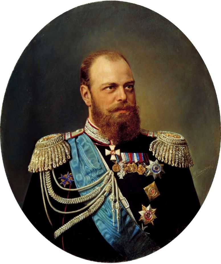 Портрет Александра III — Шильдер Николай Густавович