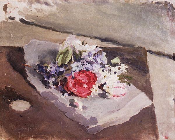 Цветы — Борисов-Мусатов Виктор Эльпидифорович