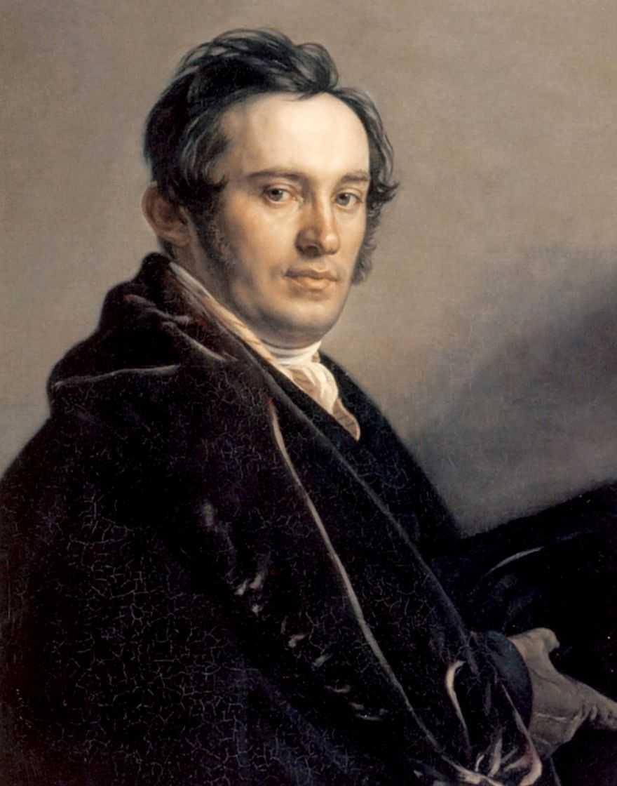 Портрет Василия Ивановича Григоровича — Варнек Александр Григорьевич