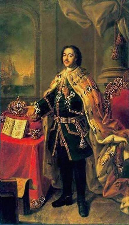 Портрет Петра I (а) — Антропов Алексей Петрович