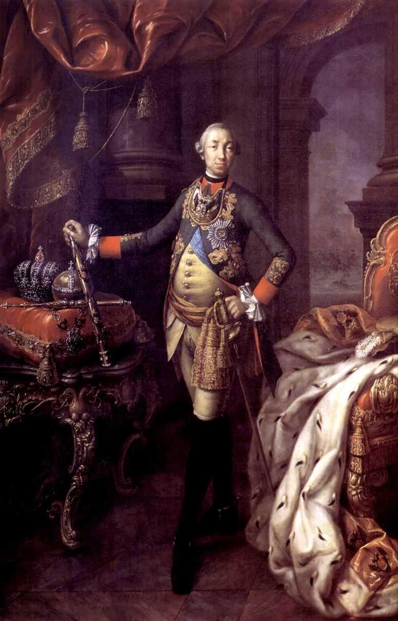 Портрет императора Петра III — Антропов Алексей Петрович