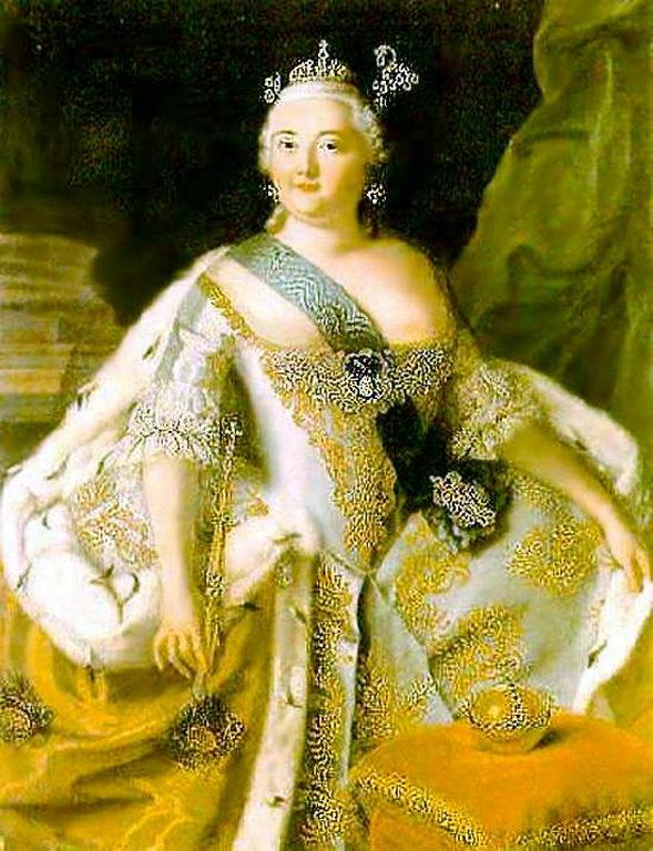 Портрет императрицы Елизаветы Петровны (а) — Антропов Алексей Петрович