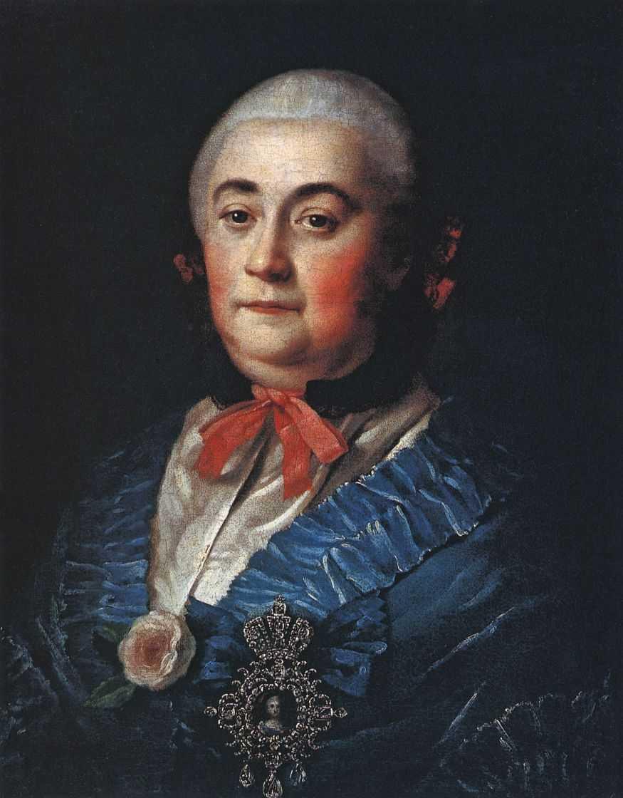 Портрет статс-дамы А.М.Измайловой — Антропов Алексей Петрович