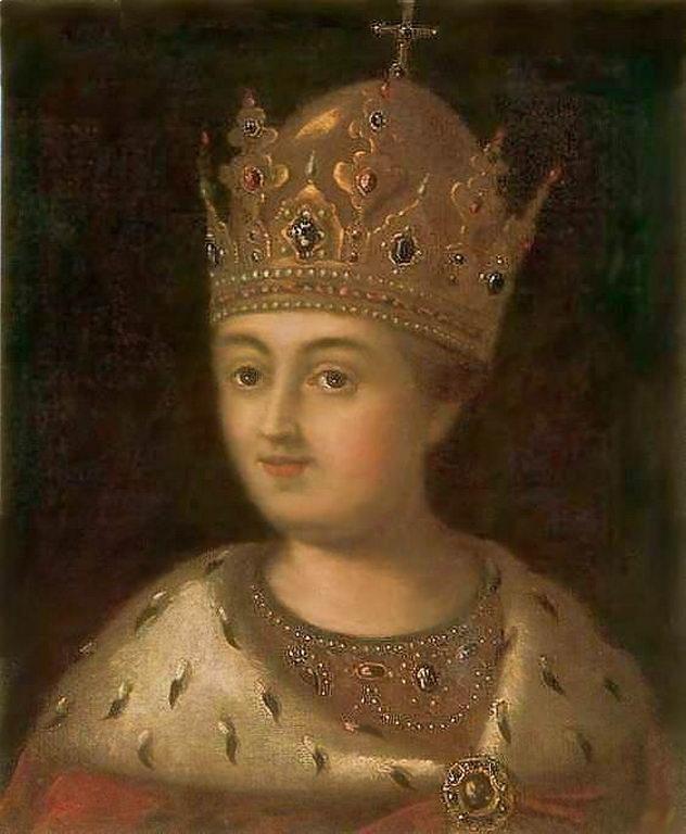 Портрет царицы Софьи — Антропов Алексей Петрович