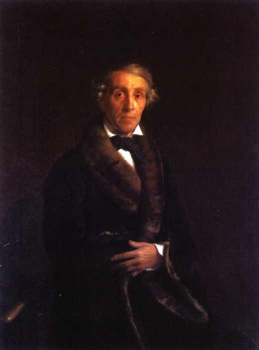 Портрет скульптора Ф. П. Толстого — Зарянко Сергей Константинович