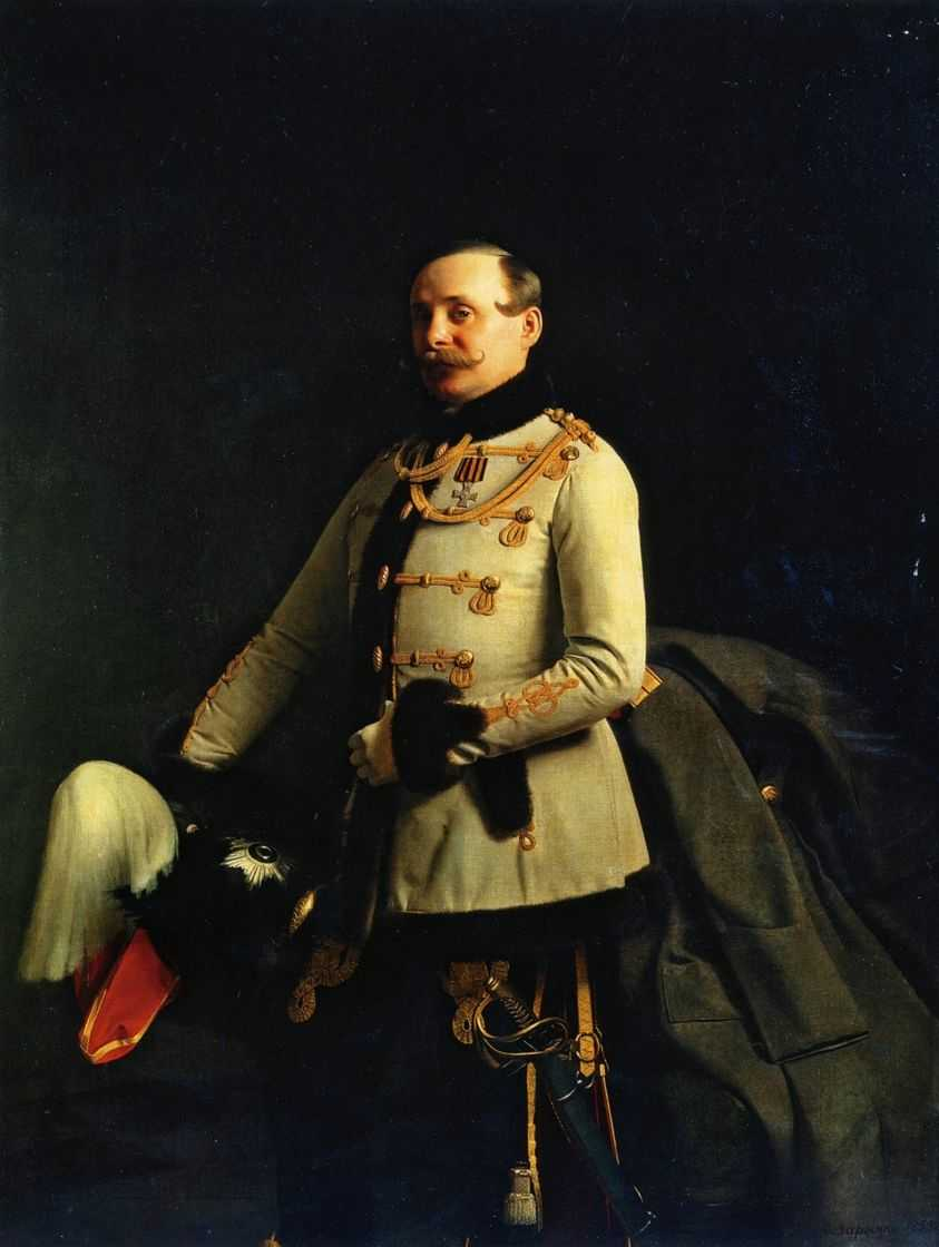Портрет А.Д.Пономарева — Зарянко Сергей Константинович